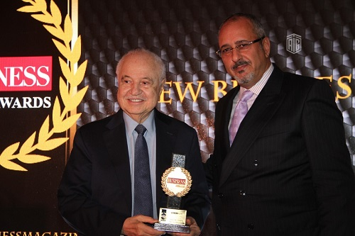 Abu-Ghazaleh Guest of Honor and Keynote Speaker; Receives 'Jordan Business Honorary Award' for Exceptional Achievements