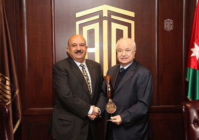 Abu-Ghazaleh Receives Founding President of the Bosphorus Summit