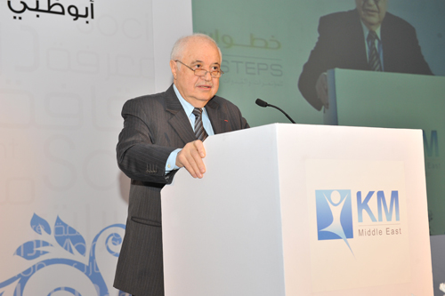 Abu-Ghazaleh Key Speaker at the Knowledge Management Conference (KM Middle East 2012)