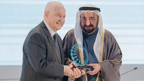 Abu-Ghazaleh The Keynote Speaker And Guest of Honor at Human Resources Conference in Sharjah